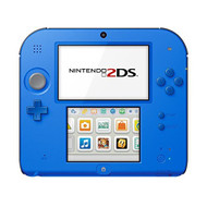 Nintendo 2DS Electric Blue With Mario Kart 7 Handheld - EE697937