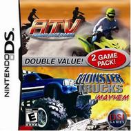 ATV Thunder Ridge Riders / Monster Trucks Mayhem For Nintendo DS DSi  - EE698079