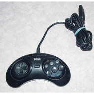 Original Controller MK-1653 For Sega Genesis Vintage Black Gamepad - EE698515