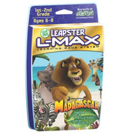 Leapfrog Leapster L-Max Educational Game: Madagascar For Leap Frog - EE698555