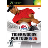 Tiger Woods PGA Tour 06 Xbox For Xbox Original Golf With Manual and - EE698912
