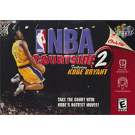 NBA Courtside 2 Featuring Kobe Bryant Nintendo 64 For N64 Basketball - EE699153