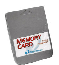 Performance Memory Card 15 Block For PS1 - EE699371