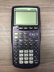 Texas Instruments TI-83 Plus Purple Graphing Calculator Handheld - EE699580