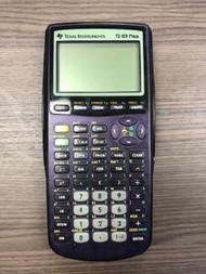 Texas Instruments TI-83 Plus Purple Graphing Calculator Handheld - EE699580