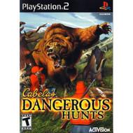Cabela's Dangerous Hunts For PlayStation 2 PS2 - EE699631