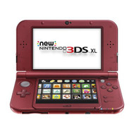 Nintendo New 3DS XL Red Handheld Console - ZZ699642