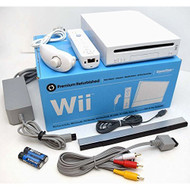 Nintendo Wii White Video Game Console System Bundle Online RVL-001 - ZZ699648