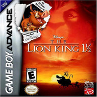 Lion King 1 1/2 For GBA Gameboy Advance - EE700006