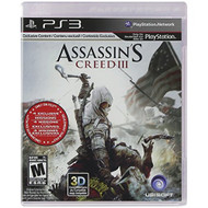 Assassin's Creed III Game For PlayStation 3 PS3 - ZZ700101