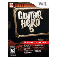 Guitar Hero 5 Game Only For Wii - EE700139