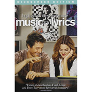 Music And Lyrics Widescreen Edition On DVD With Hugh Grant - EE700399