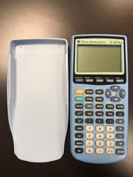 Blue Ti 83 Plus Graphing Calculator TI-83 Texas Instruments - EE701199