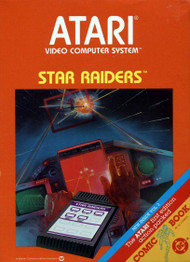Star Raiders For Atari Vintage Shooter - EE701236