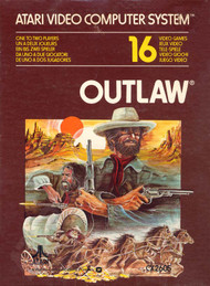 Outlaw For Atari Vintage Shooter - EE701248