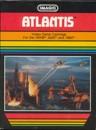 Atlantis For Atari Vintage Shooter - EE701296