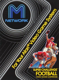 Super Challenge Football For Atari Vintage - EE701301
