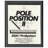7800 Video Game Cartridge Pole Position II For Atari Vintage - EE701383