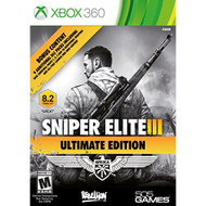 Sniper Elite III Ultimate Edition For Xbox 360 Shooter - EE701766