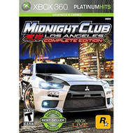 Midnight Club: Los Angeles Platinum Hits For Xbox 360 Fighting - EE701955
