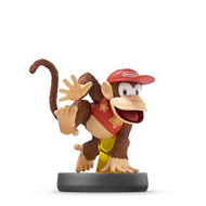 Diddy Kong Amiibo Super Smash Bros Series For Wii U Figure - EE702019