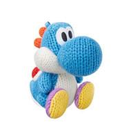 Light Blue Yarn Yoshi Amiibo Yoshi's Woolly World Series Figure - EE702060