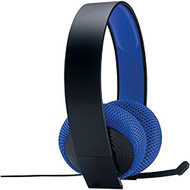 PlayStation Silver Wired Stereo Headset Black And Blue PS4 Ear CECHYA- - EE702187