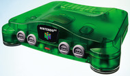 Nintendo 64 System Video Game Console Jungle Green Home - EE702336