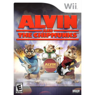 Alvin And The Chipmunks For Wii With Manual And Case - EE702689