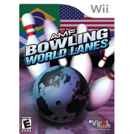 AMF Bowling World Lanes For Wii With Manual and Case - EE702707