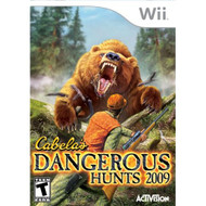 Cabela's Dangerous Hunts 2009 For Wii Shooter With Manual and Case - EE702711