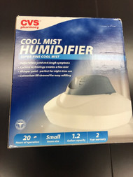 CVS Pharmacy Cool Mist Humidifer Super-Fine Cool Mist 1.2 Gallon White - EE702770