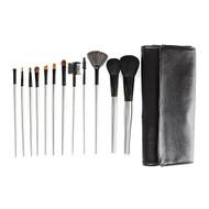 Beaute Basics 12-piece Silver Pro Brush Set Black R12 - EE702777