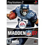 Madden NFL 07 For PlayStation 2 PS2 Football - EE702809
