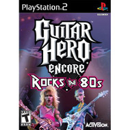 Guitar Hero Encore: Rocks The 80'S For PlayStation 2 PS2 Music With - EE702932