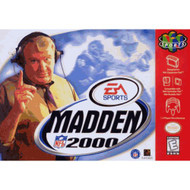 Madden NFL 2000 For N64 Nintendo Football - EE703003