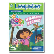 Leapfrog Leapster Educational Game Dora The Explorer For Leap Frog - EE703069