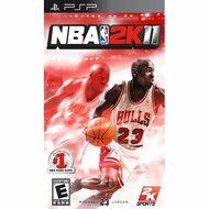 NBA 2K11 Sony For PSP UMD Basketball With Manual and Case - EE703195