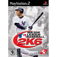 Major League Baseball 2K6 For PlayStation 2 PS2 With Manual and Case - EE703279