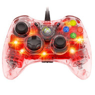 Afterglow Wired Controller For Xbox 360 Red Clear PL-3702 - EE703635