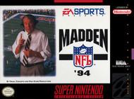 Madden NFL '94 For Super Nintendo SNES Football - EE703752