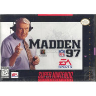 Madden NFL 97 For Super Nintendo SNES Football - EE703754