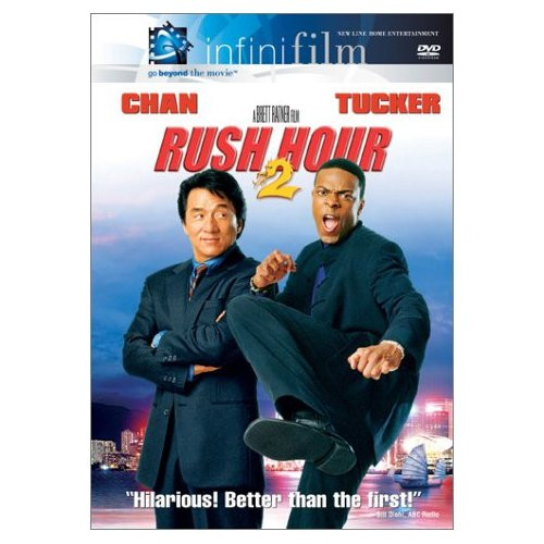 Rush Hour 2 2001 On Dvd With Jackie Chan Comedy
