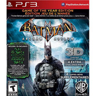 Batman: Arkham Asylum Game Of The Year Edition For PlayStation 3 PS3 - EE704453