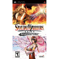 Samurai Warriors State Of War Sony PSP For Wii Fighting With Manual - EE704762