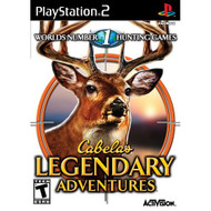 Cabela's Legendary Adventures For PlayStation 2 PS2 Shooter With - EE704778