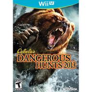 Cabela's Dangerous Hunts 2013 Wii U For Nintendo DS DSi 3DS 2DS - EE704819