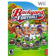 Backyard Football 2010 For Wii With Manual and Case - EE704845