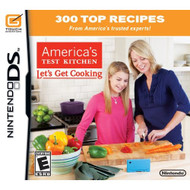 America's Test Kitchen: Let's Get Cooking For Nintendo DS DSi 3DS 2DS - EE704863