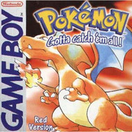 Pokemon Red Version On Gameboy RPG - EE704925